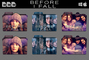 Before I Fall (2017) Movie Folder Icon Pack