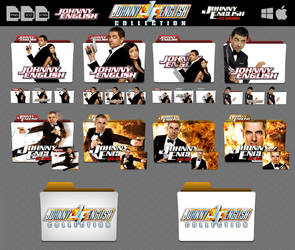 Johnny English Collection Mega Folder Icon Pack