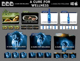 A Cure for Wellness (2016) Movie Folder Icon Pack by DhrisJ