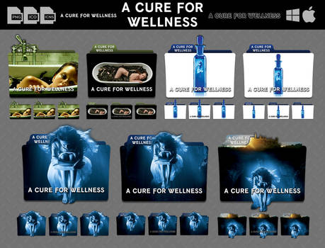 A Cure for Wellness (2016) Movie Folder Icon Pack