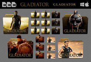 Gladiator (2000) Movie Folder Icon Pack by DhrisJ