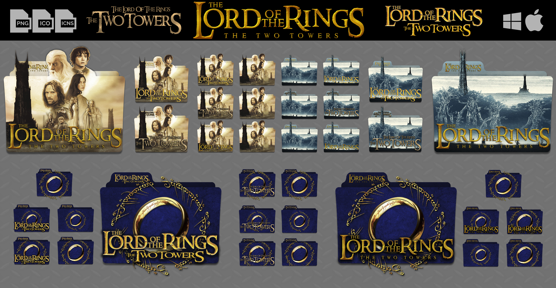 The Lord of The Rings The Two Towers by DhrisJ