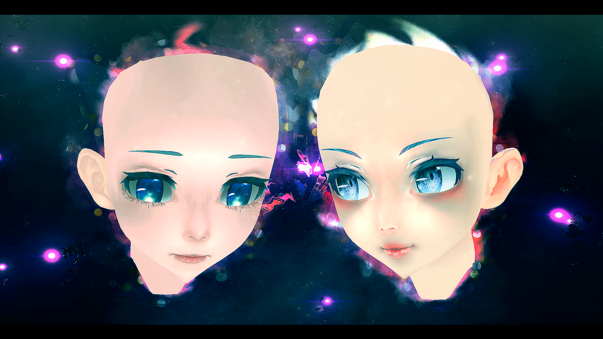 700 watchers gift - head textures by Miky-Rei