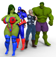 Peter Parker, The Spectacular Spider-Hulk by saturnxart