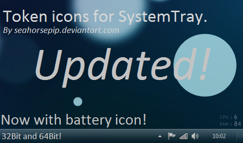 Token System Tray Updated by Seahorsepip