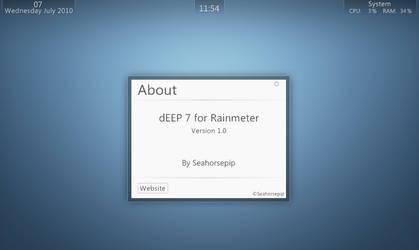dEEP 7 Rainmeter by Seahorsepip