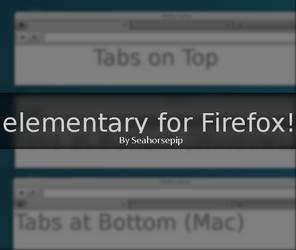 elementary for Firefox 1.0