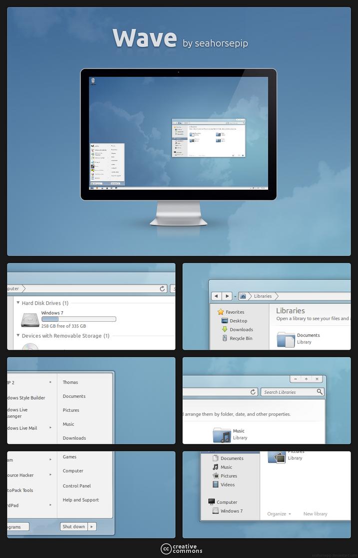 Winter for Windows 7