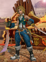 Dissidia NT - Zidane by BurningEnchanter