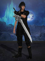 Dissidia NT - Noctis Default by BurningEnchanter