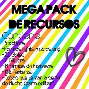 Mega Pack de Recursos [ZIP] by MaartiPatinadora