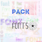 +Pack 20 fonts tipo tumblr