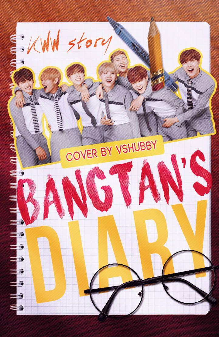 Bangtan's Diary [BTS Diary] Wattpad Cover by vshubby on