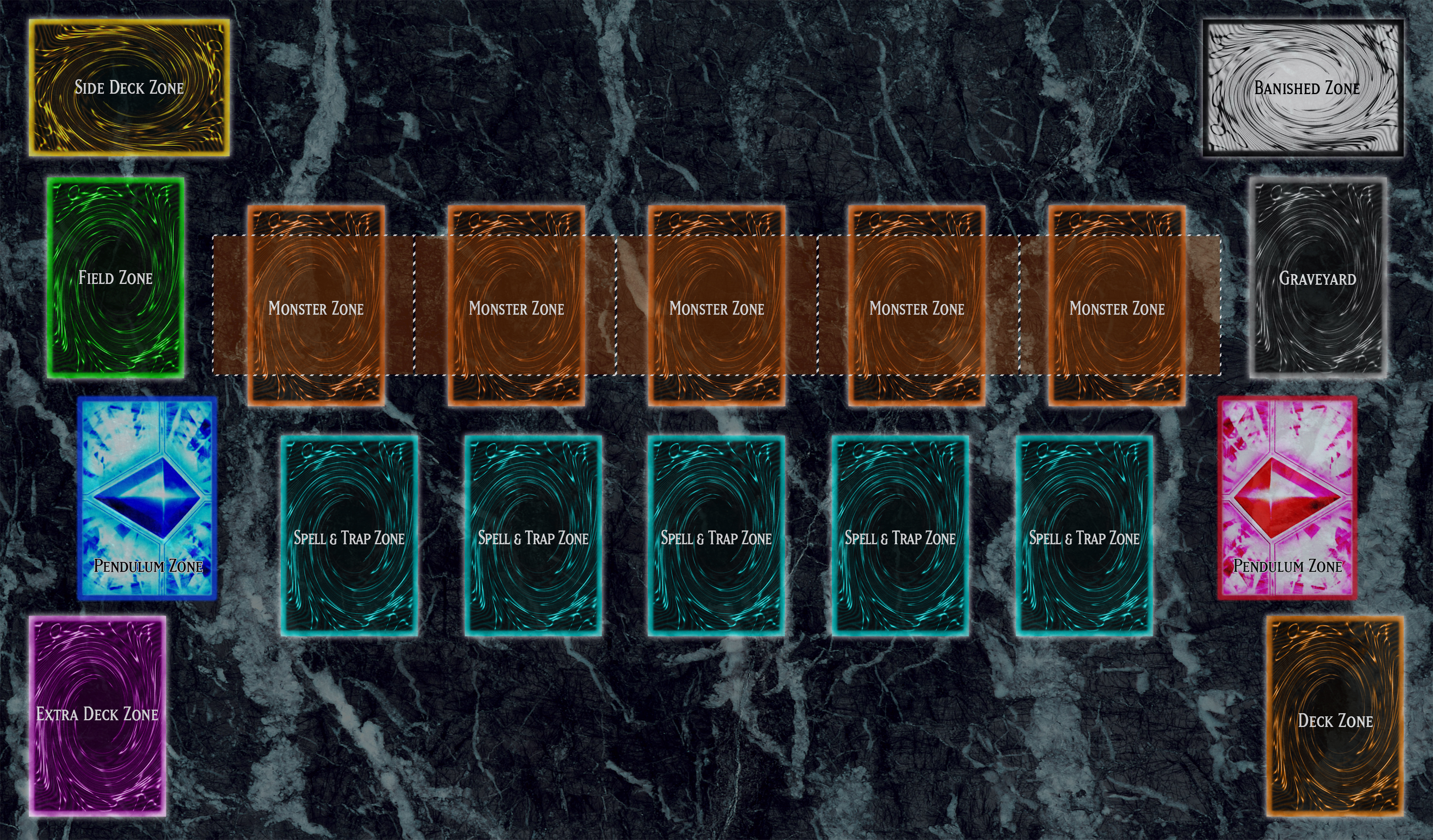 Yu-Gi-Oh! Playmat Template 2016 (OUTDATED) by CLANNADAT on