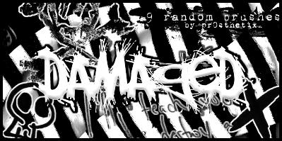 Damaged Brushes by pr0sthetix