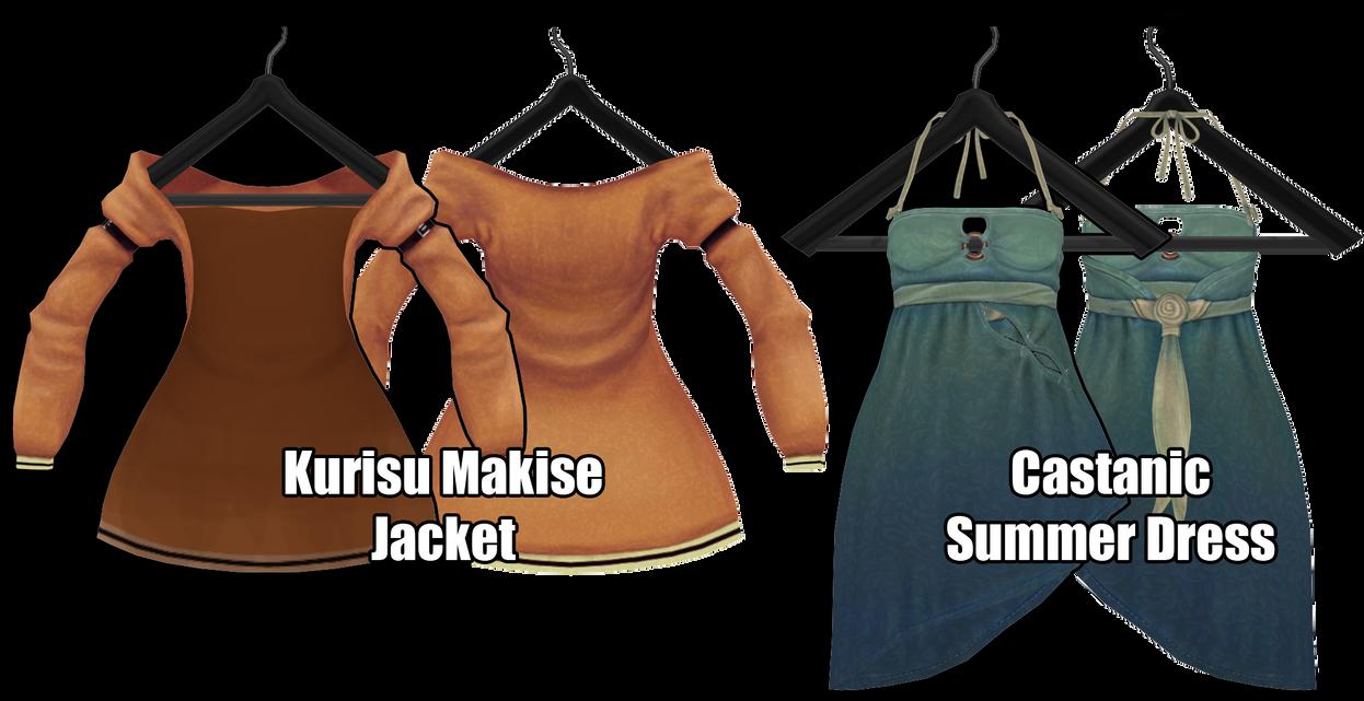 [MMD] Jacket and Dress [Download Stuff] by Wt-Jok