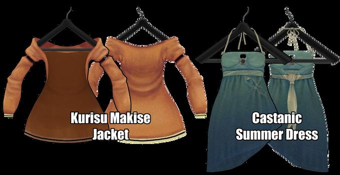 [MMD] Jacket and Dress [Download Stuff]