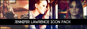 Jennifer Lawrence Icon Pack by MindlessFog