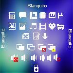 Iconos Blanquito by ovtovaz