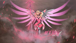 Pandreem - Pink Mercy [ANIMATED] by Pandreem