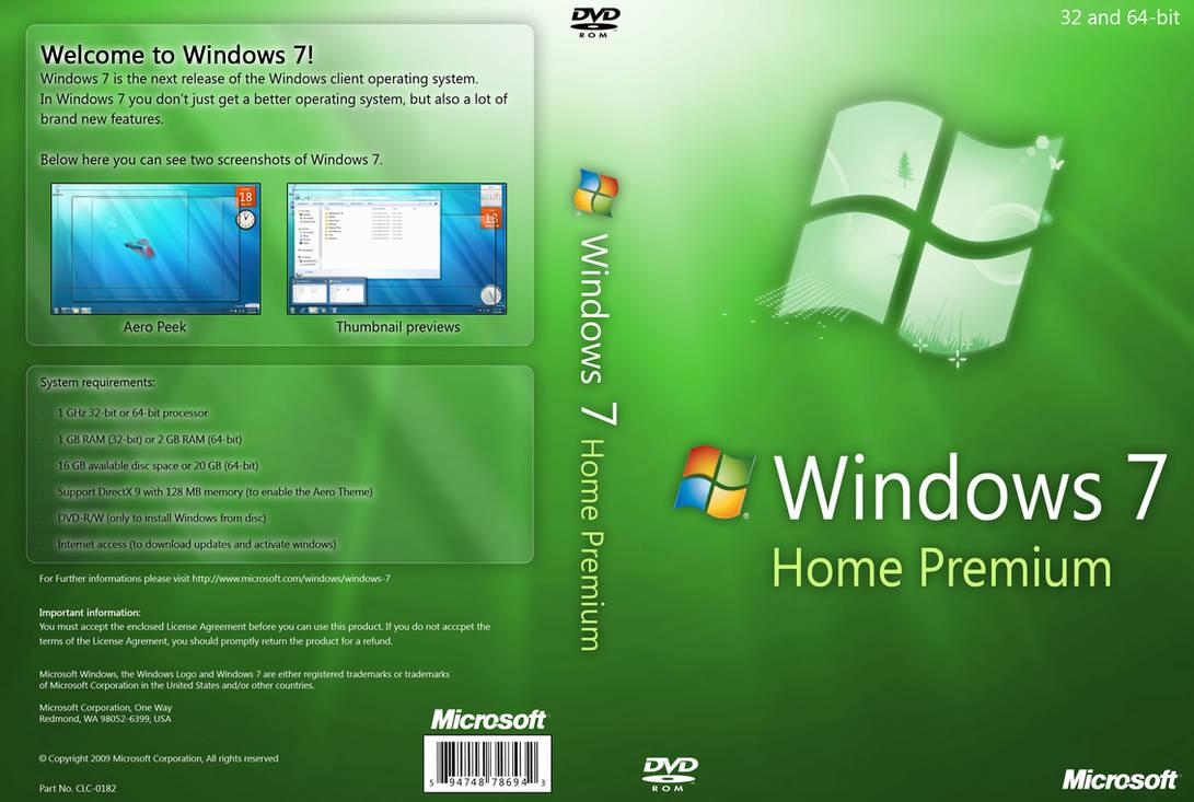install win 7 home premium