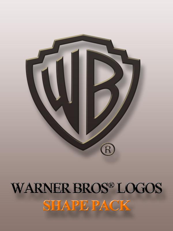 Warner Bros Logos Shape Pack by yaxxe