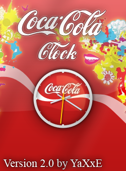 Coca Cola Clock v.2.0 by yaxxe
