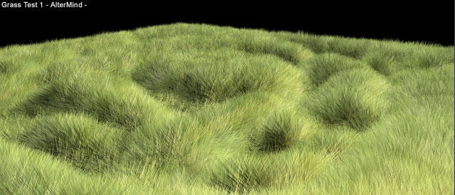Simple Grass Tutorial for MAYA 4.5 + by altermind