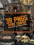 Dark Temper PNG Pack by Abbysidian