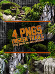 Unseen Trails PNG Pack by Abbysidian