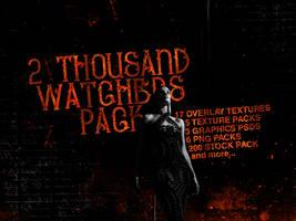 2 Thousand Watchers Pack by Abbysidian by Abbysidian