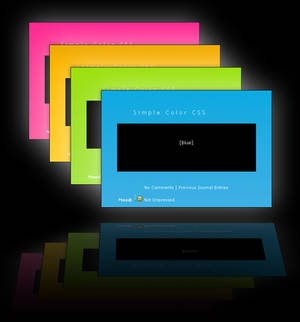 Simple Color CSS and Tutorial