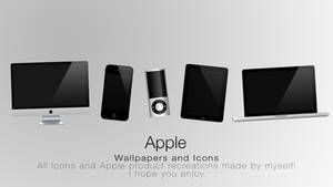 Apple Products Walls and Icons