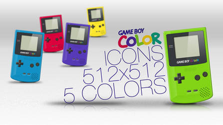 Game Boy Colour Icons