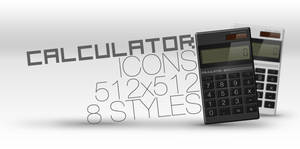 Calculator Icons by NKspace