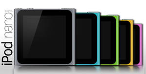 iPod nano 6th gen icons