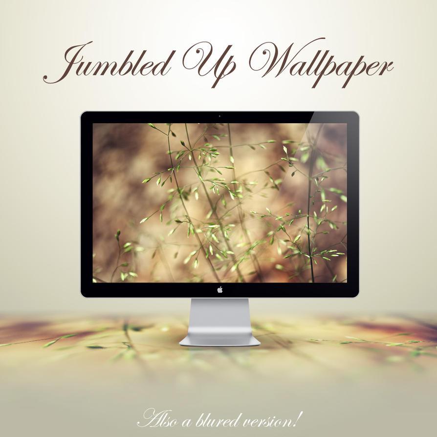 Jumbled Up Wallpaper by NKspace