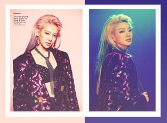 [#5][PSD Coloring #1] Holiday Night, Hyoyeon by ptbh-kristine