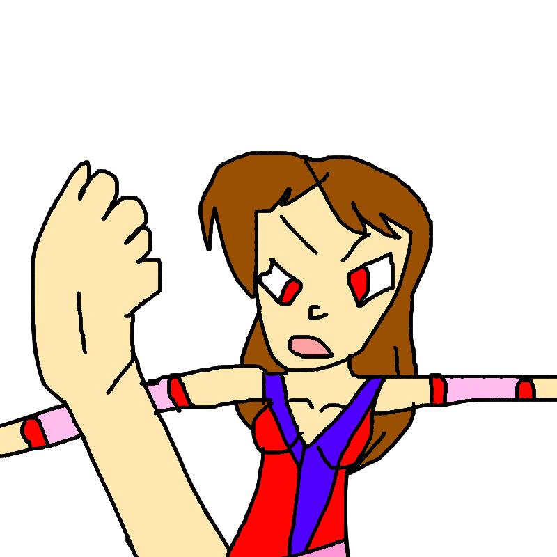 Malana Kicking by lileehilee