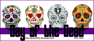 Day of the Dead PNG Pack