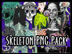 PNG Pack Skeletons and Such