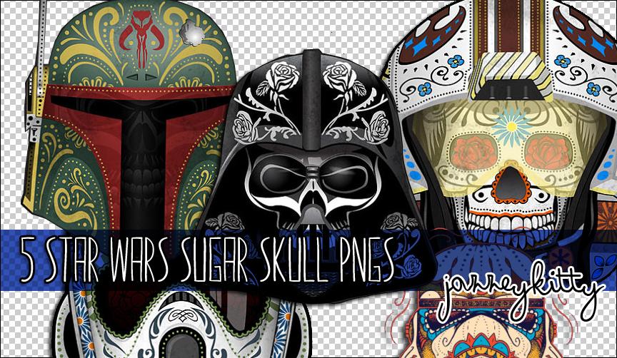 Star Wars Sugar Skull Png Pack By Silklungs On Deviantart