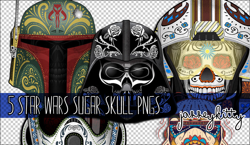 Superior Star Wars Sugar Skull PNG Pack By Silklungs ...