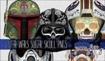 Star Wars Sugar Skull PNG Pack