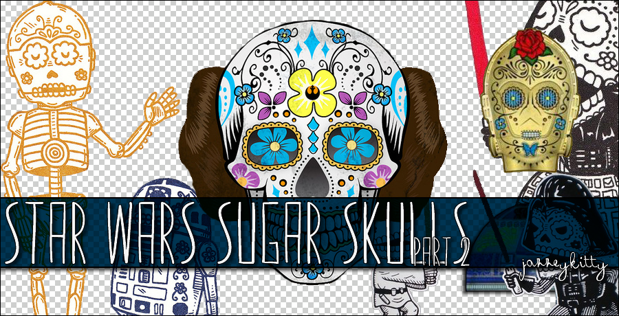 Star Wars Sugar Skull PNG Pack 2 By Silklungs ...