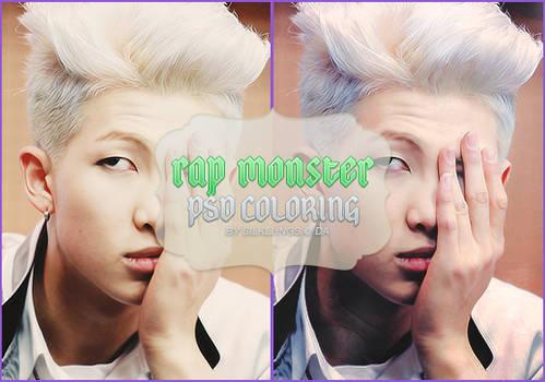 Rap Monster PSD Coloring