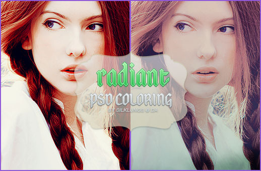 Radiant PSD Coloring