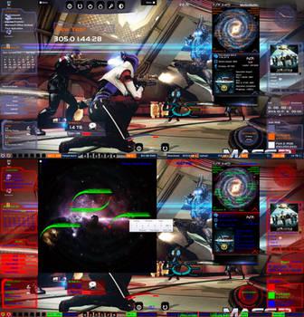 Mass Effect 3 Rainmeter Skin V: 3.3 by Melllin