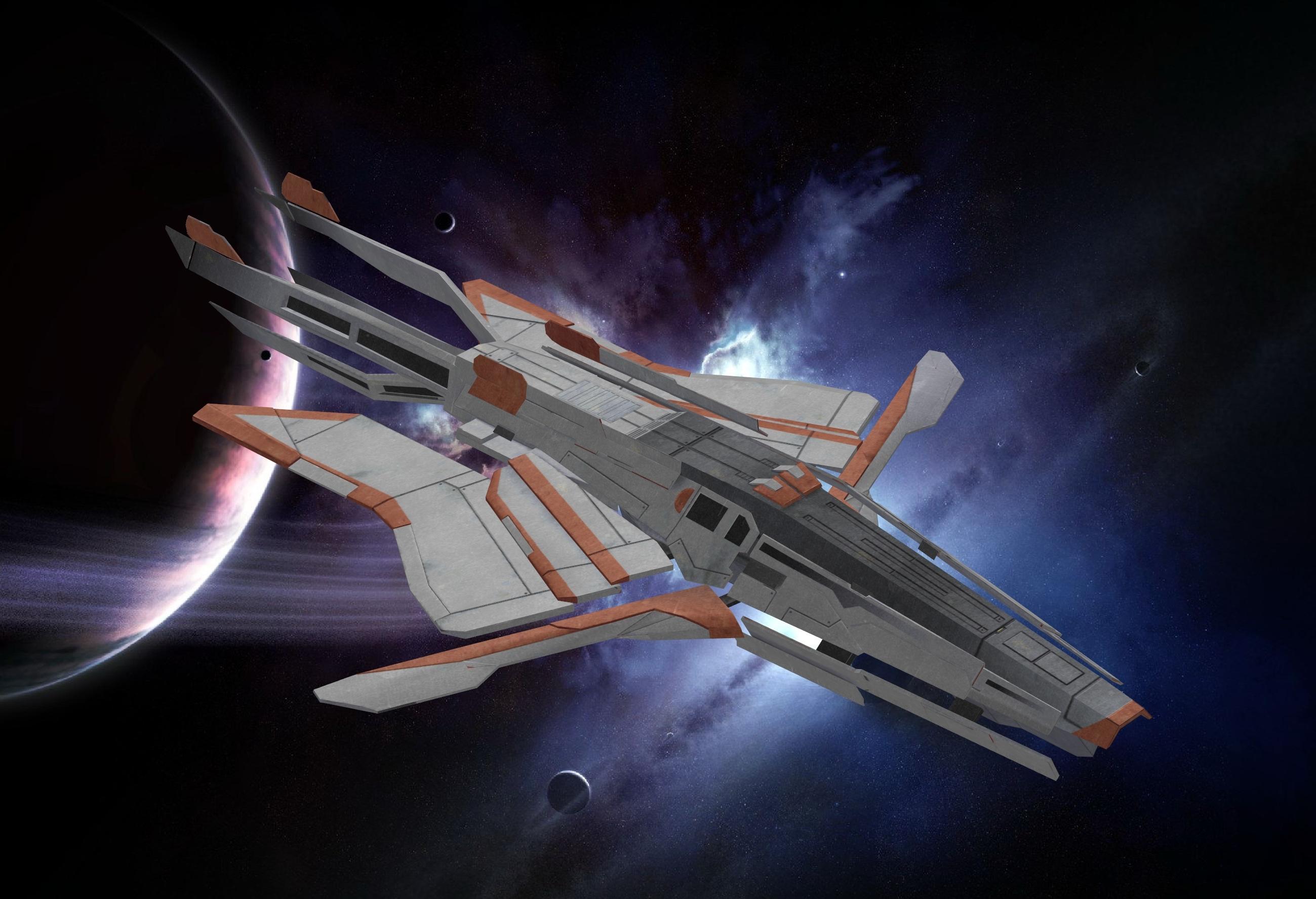 Mass Effect Turian Ships Traffic Club