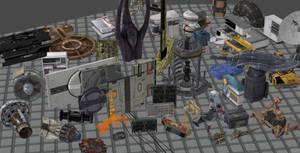 Mega pack of Mass Effect Models for XNALara